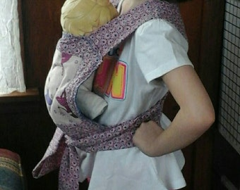 Baby doll carrier made to order!
