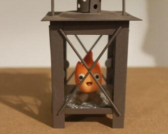 Howl's moving castle Calcifer Lantern (Studio Ghibli)