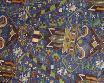 Vintage Shendani Tribal Carpet