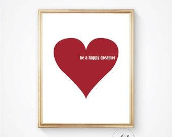 Nursery prints, wall art, Nursery decor, Nursery printable, Heart print, Baby shower gift,  Nursery art print, posters, bedroom decor