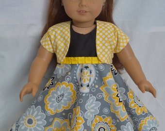 """American Girl Doll Clothes-18"""" Doll Clothes-Maryellen Doll Clothes-18"""" Doll Dress-American Girl Clothes-American Girl Doll"""