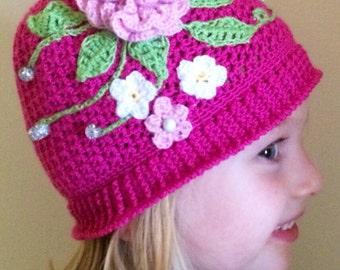 Adorable Crochet Panama Hats