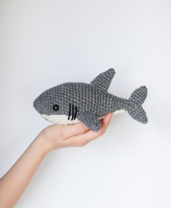 PATTERN: Crochet shark pattern - amigurumi shark pattern ...