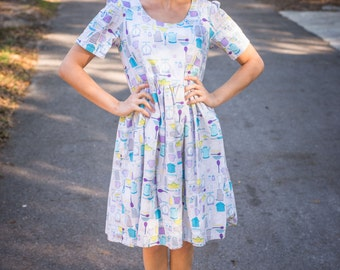 Sweet Kitchen Fabric Tent Dress