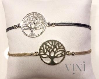 TREE OF LIFE sterling silver friendship bracelets
