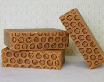 Raw Honey & Lemon Essential Oil Soap, Handmade