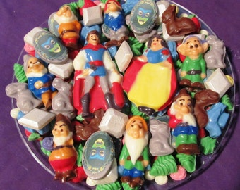 Princess Snow & Prince chocolates candy tray