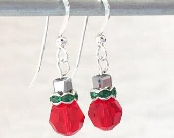 Ornament Earrings - Christmas Jewelry - Christmas Earrings - Ornament Jewelry - Christmas Ornament - Teacher Gift - Secret Santa Gift