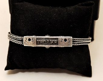 Special Hand Made Bracelet in Sterling Silver 925