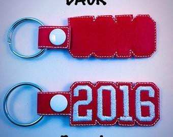 2016 key fob, 2016 key chain