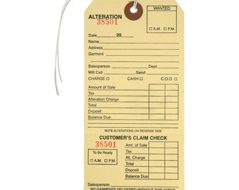 """10 Manilla Alteration Tags  Great for scrapbooking , Junk Journals etc 3 1/8"""" by 6 1/4"""""""