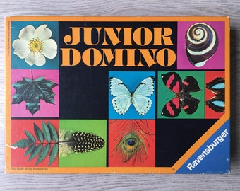 vintage Junior Domino - Ravensburger