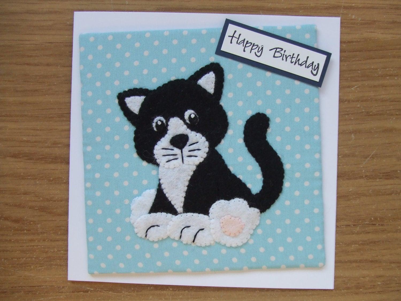 cat cards handmade cat cards cat birthday cards animal