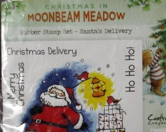 Moonbea Meadow  Christmas Delivery Stamp