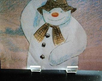 Snowman Doing a Dance Picture