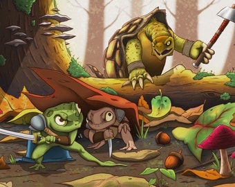 Secret Wars of Frogs