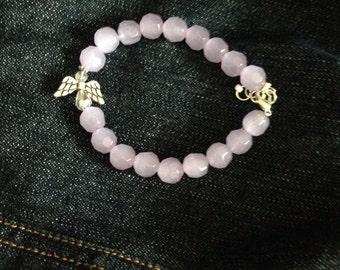 Lavender Angel Bracelet