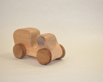 Wooden Car. Wooden Toy.