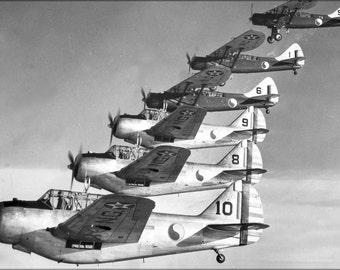 24x36 Poster . Douglas O-46A, North American O-47 1940