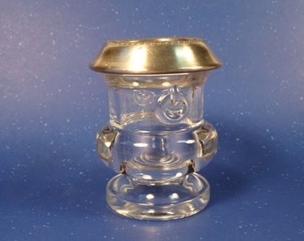 Laben Silverplate Toothpick Holder or Votive Candle Holder