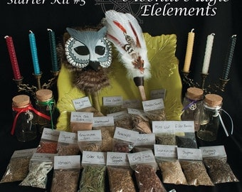 Wicca Kit/ Pagan Kit/ Spell Kit/ Witch's Cabinet