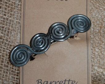 Celtic Spirals Barrette