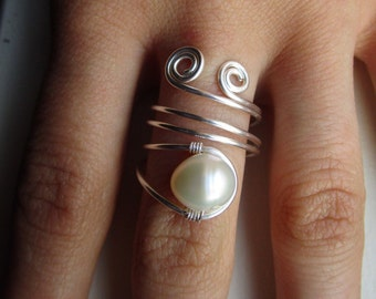 Not Your Average Pearl Ring