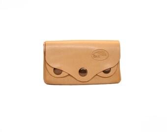 Leather wallet Stitch-less - Stitch-less Rivet wallet