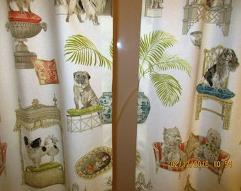 Curtains Ideas curtain panels 72 length : Long shower curtain | Etsy