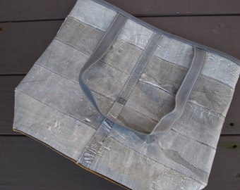Grey Recycled Plastic Purse