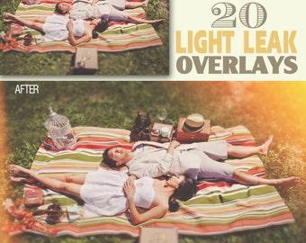 LIGHT OVERLAYS, Vintage Overlays, Overlays Photoshop, Sun Flare, Wedding Overlays, Light Leaks, Sun Overlays, Light Leak Photoshop, DIGITAL
