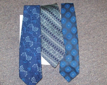 3 Vintage 1970s Ties To the Blues