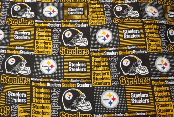 Pittsburgh Steelers Fabric Pittsburgh Penguins Fabric Cotton