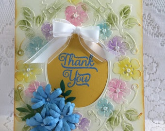 Thank You, Ellegant Handmade, Greeting Card,