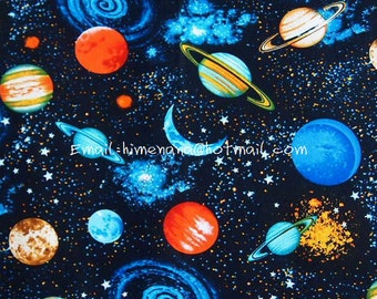 Etsy your place to buy and sell all things handmade for Fabric planets solar system