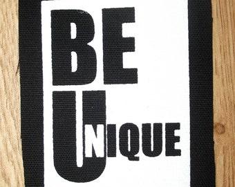 Be unique punk patch