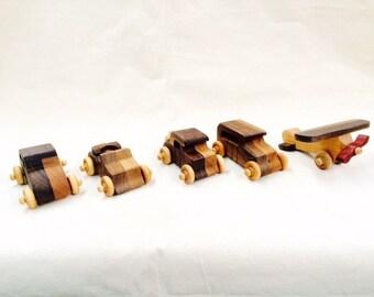 Wood Toy Set Christmas gift wood handmade