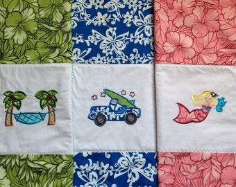 Maui blanket | Etsy : hawaiian baby quilts for sale - Adamdwight.com