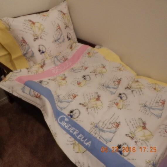 Toddler Bedding Vintage Disney Princesses