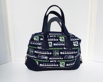 Seahawk's Brooklyn Handbag with Glitter Accents