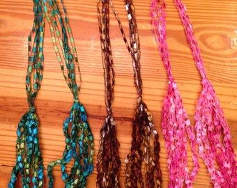 Handmade Crochet Necklaces