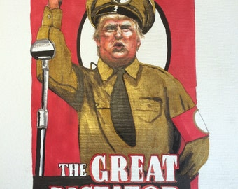 Image result for trump the dictator