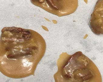 Pralines Buttery Candy With Pecans Louisianna Pralines