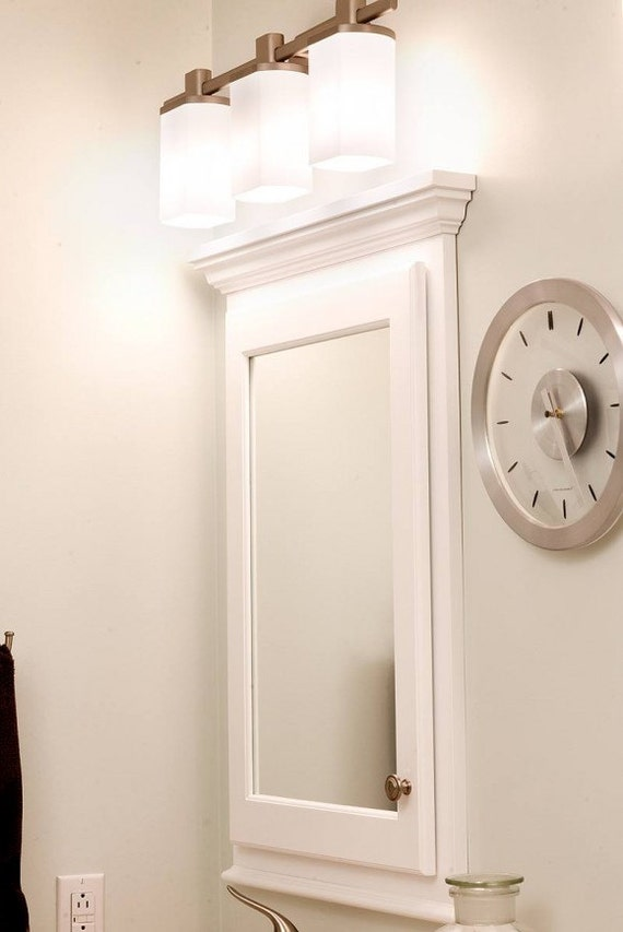mirror medicine cabinet available recessed or surface mount. Black Bedroom Furniture Sets. Home Design Ideas