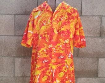 Vintage Hawaiian Aloha Shirt