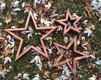 Wooden Home Décor Stars