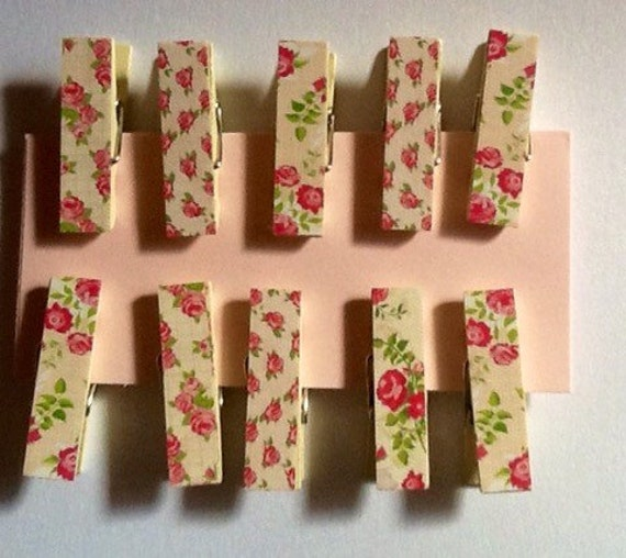Decorative clothes pins scrapbooking supply craft supply for Decorative pins for crafts