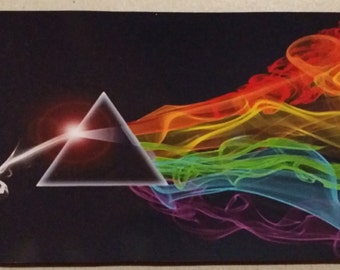 """Pink Floyd Dark Side of the Moon Magnetic  6"""" x 3 1/2"""" Roger Waters David Gilmour Refrigerator"""
