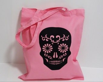 Sugar Skull Tote Shopper bag