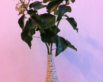 Ceramic bottle vase